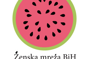 Logo zenske mreze vektorski